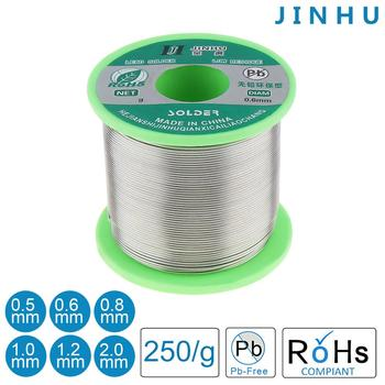 цена на Welding Wire 0.5mm 250g 99.7% Sn 0.3% Cu Soldering Wires Lead free Rosin Core Solder with Flux Solder Tin for Aluminum Soldering