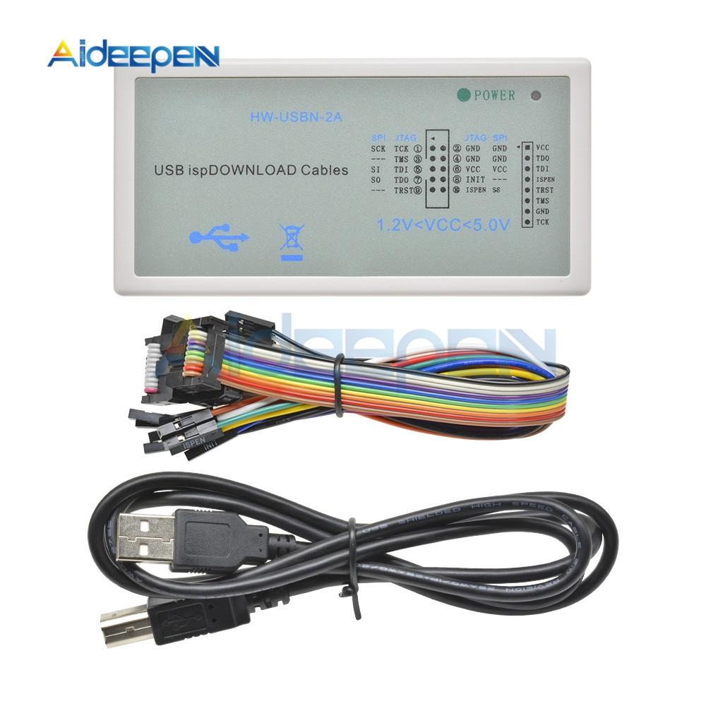 New Arrival USB Isp Download Cable JTAG SPI Programmer For LATTICE FPGA CPLD Development Board Download