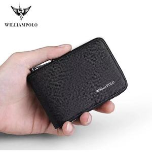 WILLIAMPOLO Leather Card Holde