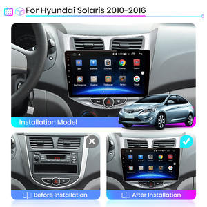 Image 2 - Junsun V1 2G + 32G Android 10.0 DSP สำหรับ Solaris Hyundai 2010 2017รถวิทยุมัลติมีเดียวิดีโอ player นำทาง GPS RDS 2 Din Dvd