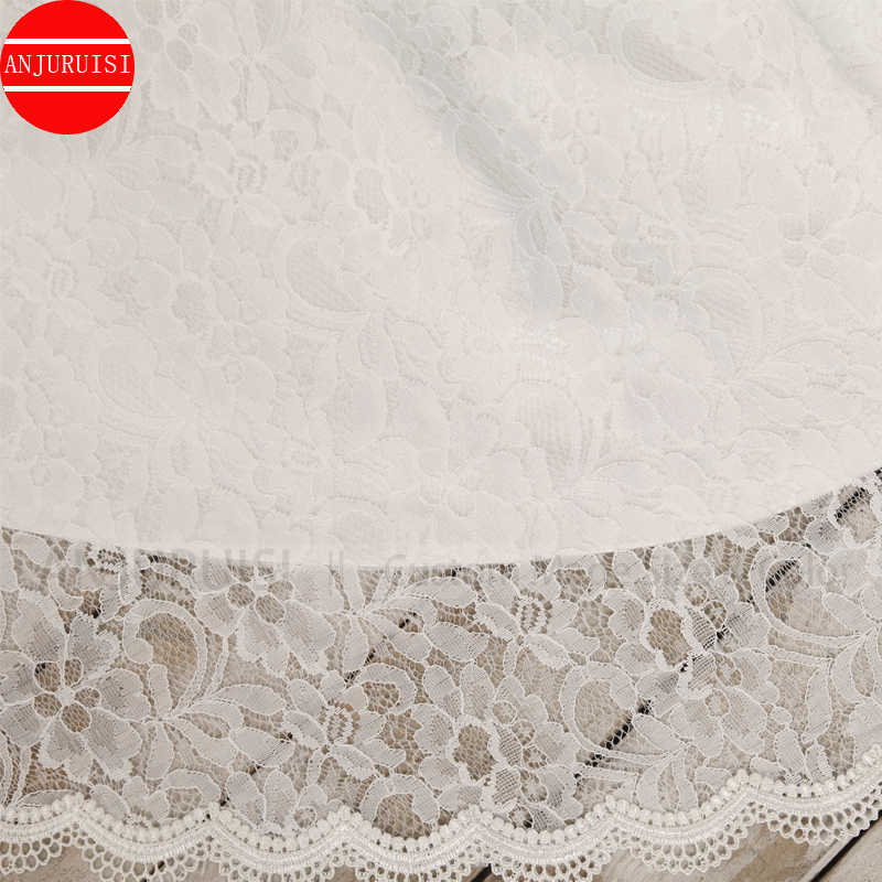 Robe de mariée sirène en dentelle blanche, Vintage, robe longue, Simple, Simple, avec ceinture, robe de mariée, modèle 2020
