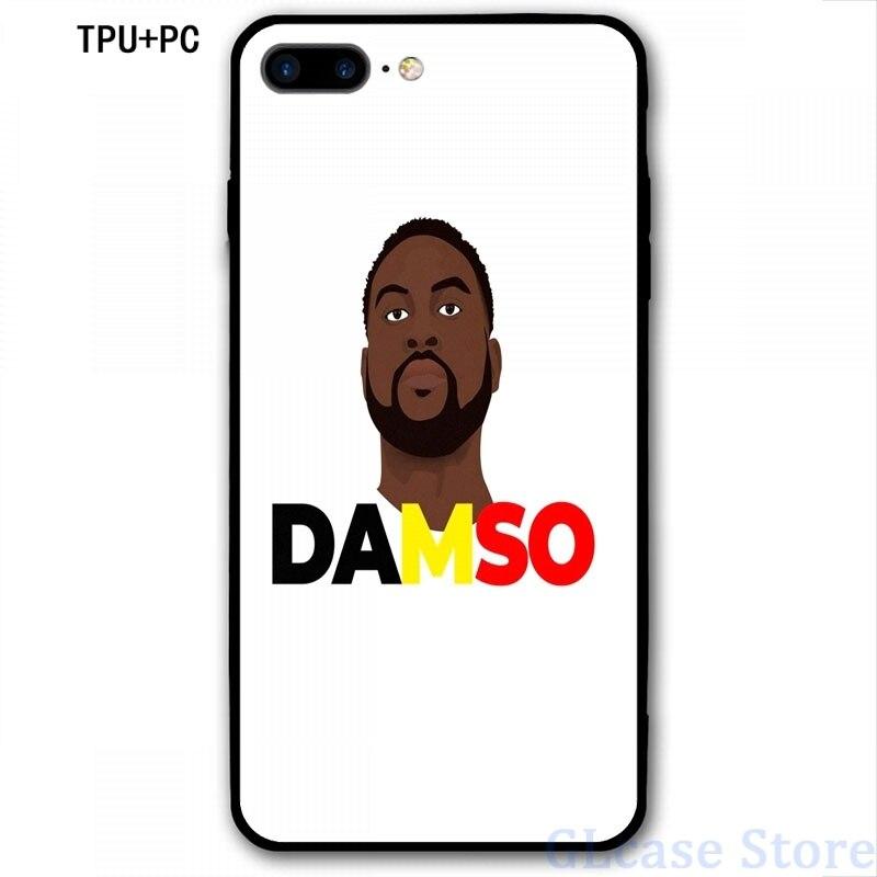 DAMSO – coque arrière en verre TPU souple pour iPhone, compatible modèles 6, 6s, 8, 7, 12 Pro, 11, X, XR, XS Max, 5s