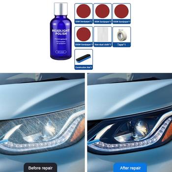 10ML Car Styling Headlight Polish Liquid Cars Restoration Agent Scratch Repair Kit Brightening Headlight Repair Lamp Paint Care 1