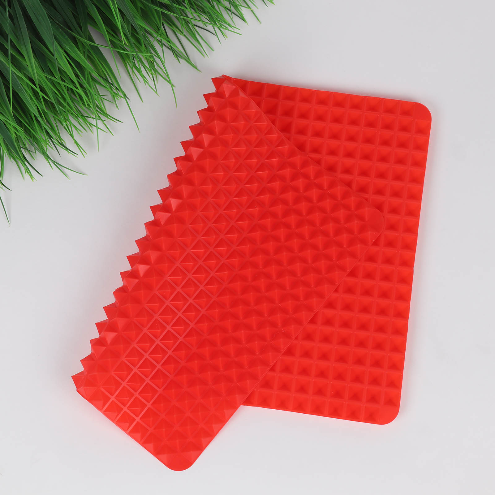 3 Colors Silicone Baking Mat In Non Toxic And High Temperature Resistance For Chocolate And Jelly Pudding 17