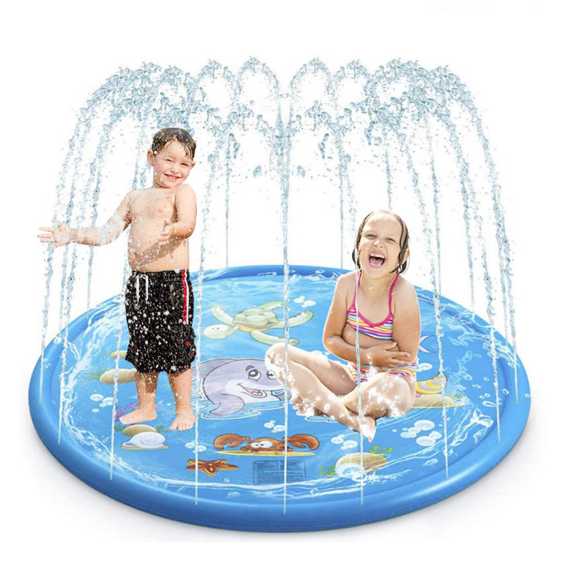 Water-Cushion Sprinkler-Pads Play Outdoor Inflatable Children Summer Games PVC Spray