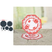 Circle Insect Ladybug Surround Shape Words Metal Cutting Dies Scrapbooking Album Paper DIY Cards Crafts Embossing New 2019