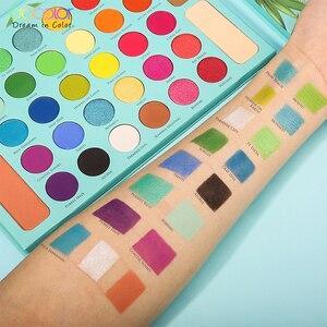 Image 5 - Docolor עירום צלליות צבעים 34 צבעים מט שמר גליטר צללית צבעים איפור אבקה עמיד למים פיגמנט קוסמטיקה
