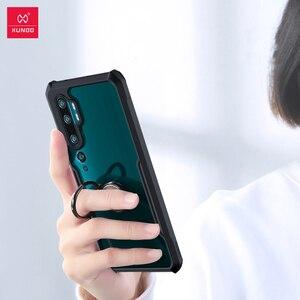 Image 3 - Xundd için darbeye dayanıklı durumda Xiaomi Mi not 10 Pro kılıf Xundd tampon hava yastığı koruyucu şeffaf kapak için Mi not 10 lite durumda