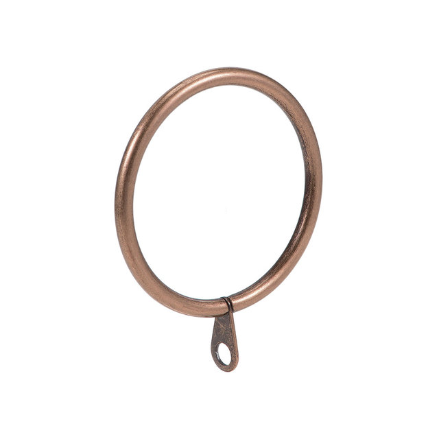 Uxcell 14 pièces anneaux de rideau en métal 45mm diamètre intérieur anneau de draperie pour tringles à rideaux en cuivre pour tenir des rideaux et des rideaux de fenêtre