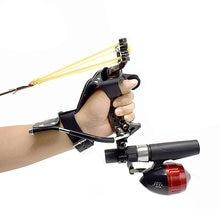 Набор рогатки для охоты и рыбалки высокоточная Рогатка стрельбы
