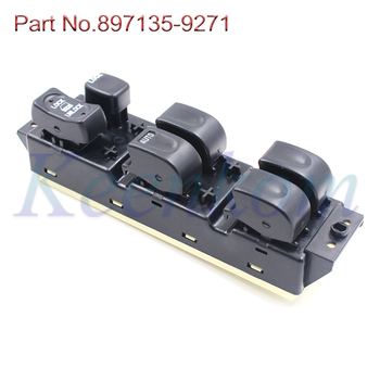 897135-9271 nowy elektryczny przełącznik elektrycznego sterowania szybą pasuje do Isuzu Rodeo paszport 1998 1999 2000 2001 2002 2003 2004