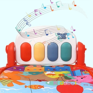 Image 5 - Baby Play Mat GYM Baby Toys Educational 0 12 Months Activity Playmat Musical Piano Infant Baby Learning Toys Newborn Carpet