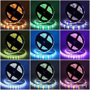 Image 5 - RGBW 12V HA CONDOTTO LA Striscia 5050 Impermeabile IP20/IP65 Flessibile ha condotto la Luce del Nastro + Mi Luce RF di Tocco di Telecomando + 4pcs 4 di Controllo di Zona