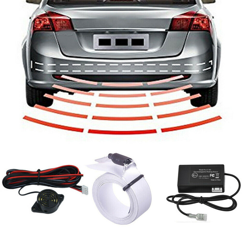 Car Auto Parking Sensor Reverse Backup Rear Radar Car Parking Detector System Kit Sound Alert Alarm Indicator Car Parking Sensor