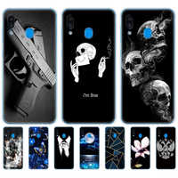 Case For Samsung Galaxy M20 Phone Case Samsung M20 Cover for Samsung Galaxy M20 M 20 SM-M205F back Case silicon Soft TPU cute