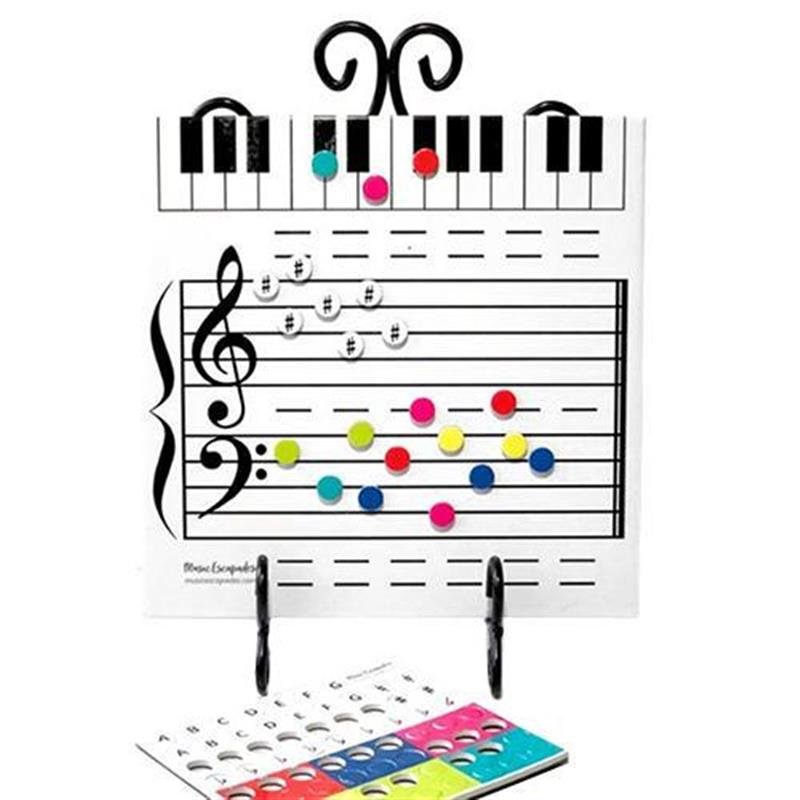 Magnetic Dry Erase Board For Music Lessons Note Reading Music Classroom Teaching Music Gift For Children Music Staff Whiteboard