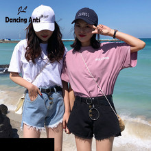 Woman Shorts High Waist Wide-leg Loose Short Trousers Korean Style Solid Hole Single Breasted Casual Denim Shorts 2020 Summer цена и фото