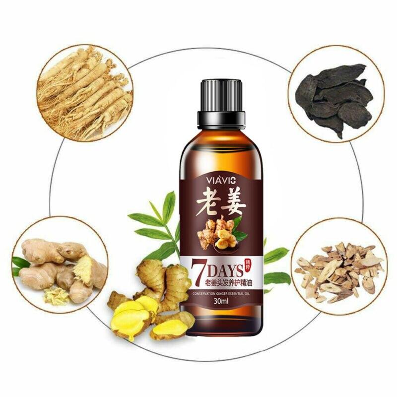 Купить с кэшбэком 30ml New ReGrow 7 Day inger Essence Hairdressing Hair Care Oil Hairs Mask Essential Oil Dry & Damaged Hairs Nutrition