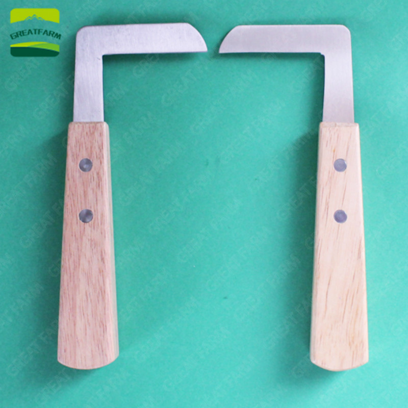 Farm Cattle hoof cutter Veterinary <font><b>Knife</b></font> Shears Right Handed Veterinary Sheep <font><b>Goat</b></font> Pig Castration Animal Foot Pruning Tools image