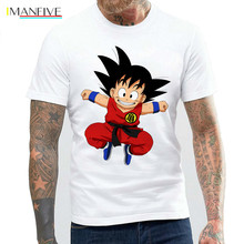 New 2019 Dragon Ball T shirt customized Plus Size XXXL Japan Cartoon Goku Tops MTE30