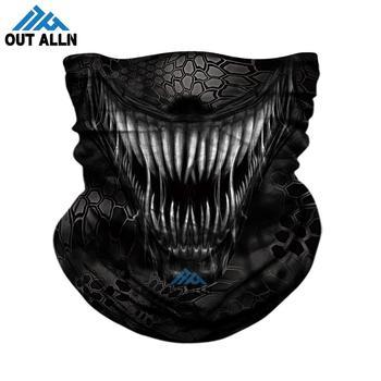 3D Venom Face Mask Deadpool Seamless Bandana Hiking Scarves Outdoor Sports Bandanas Headband Cycling Ski Mask Neck Gaiter Shield