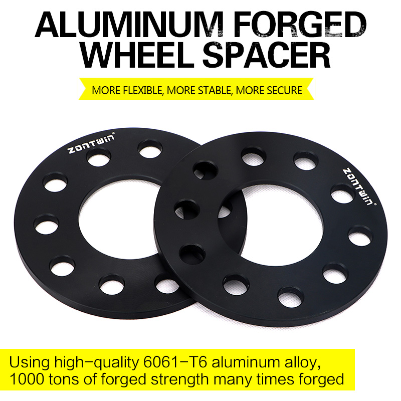 2/4 Pieces 3/5/8mm Wheel Spacer Adapters PCD 5x100/5x112 CB 57.1mm Suit For VW-Audi Car
