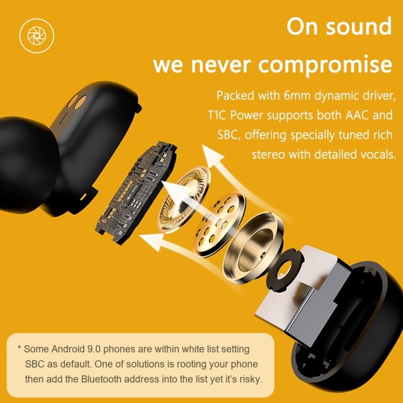 QCY T2C TWS Bluetooth 5.0 Earphones