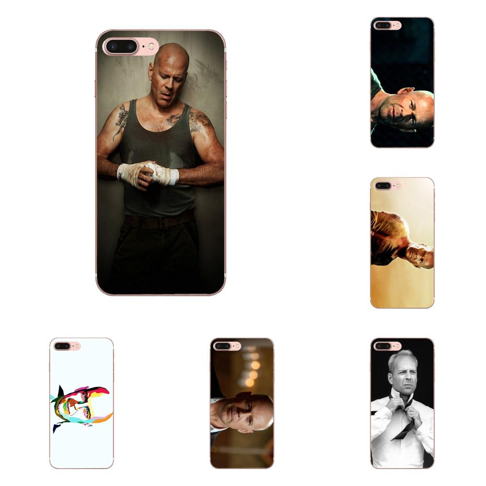 Live Free Or Die Hard Bruce Willis For Samsung Galaxy A10 A20 A20E A3 A40 A5 A50 A7 J1 J3 J4 J5 J6 J7 2016 2017 2018