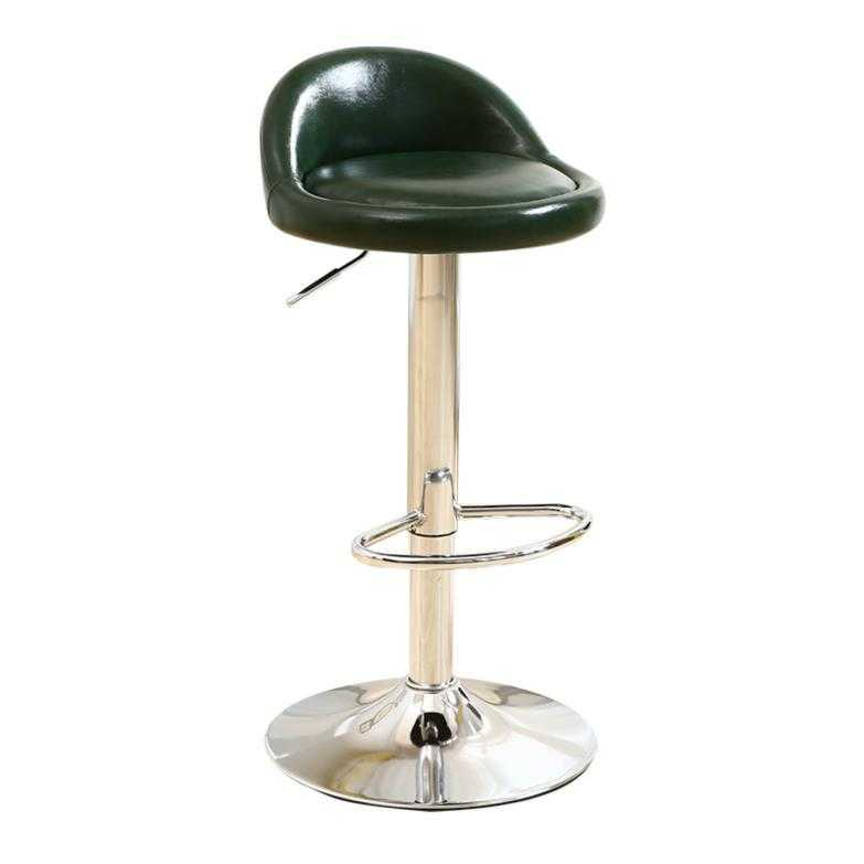 Iron Bar Chair Rotating Modern Minimalist Cashier Front Desk Bar Stool Home High Chair Lift Bar Stool