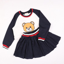 купить Girls Clothing Set Sports-suit Children Cartoon Clothes Baby Tracksuit Outwear Long Sleeve Clothes Autumn Sports Suit For Boys по цене 989.99 рублей