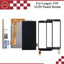 Ocolor Leagoo Z10 LCD ekran ve dokunmatik ekranlı sayısallaştırıcı grup Leagoo Z10 dokunmatik Panel araçları ve yapıştırıcı
