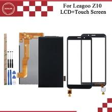 Ocolor ل Leagoo Z10 شاشة الكريستال السائل و مجموعة المحولات الرقمية لشاشة تعمل بلمس ل Leagoo Z10 لوحة اللمس مع أدوات و لاصق