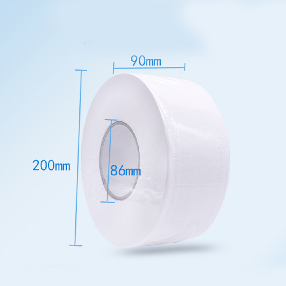 1 Roll 4-ply Paper Tissue Toilet Roll Paper Public Hotel Commercial Use NYZ Shop
