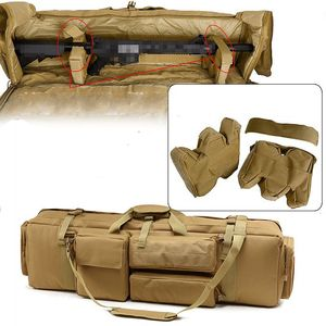 Тактическая охотничья сумка, нейлоновая Оружейная кобура, военная Защитная сумка для стрельбы, для тренировок на открытом воздухе, снайпер,...