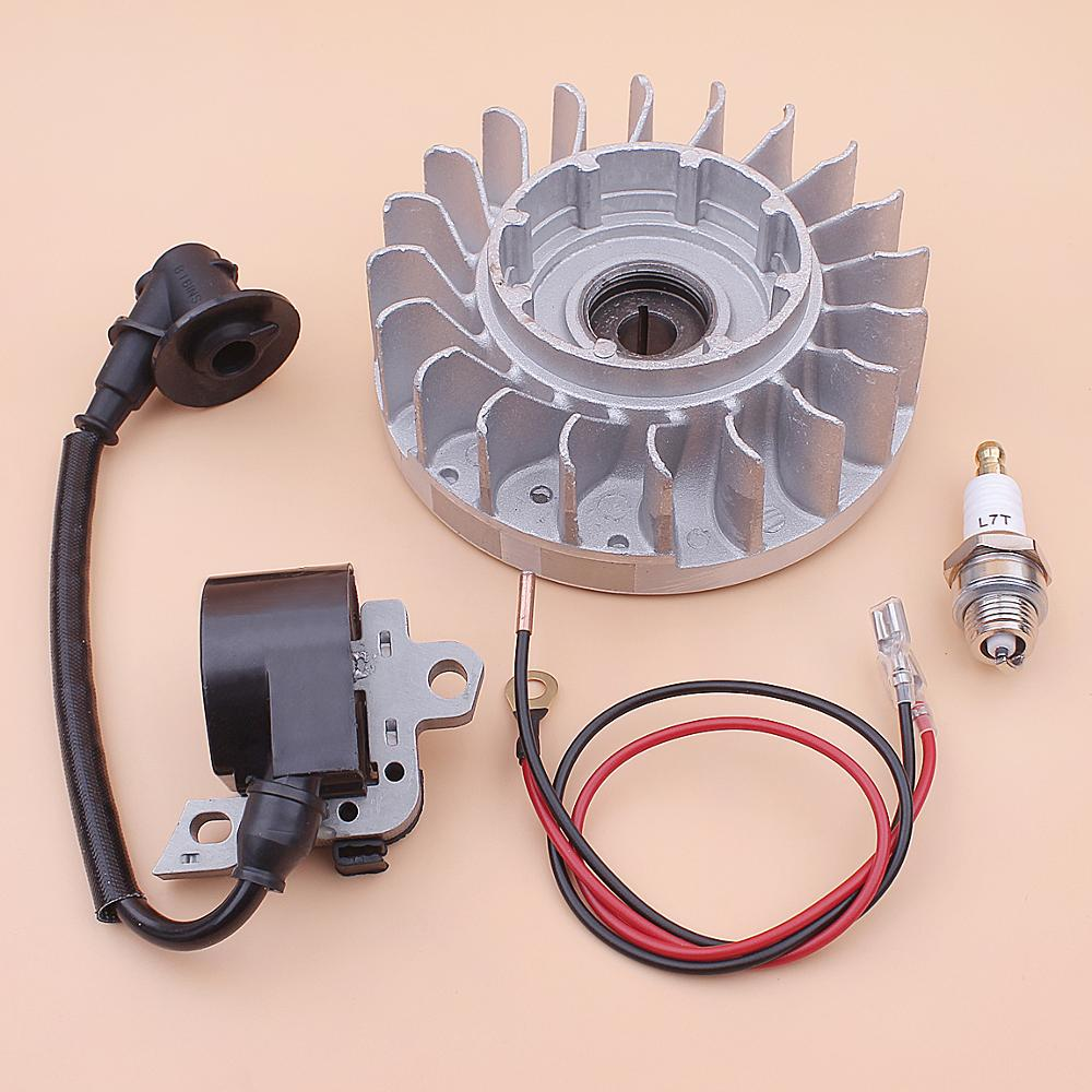 Flywheel Ignition Coil Spark Plug Kit For Stihl MS660 066 MS 660 Chainsaw 1122 400 1217