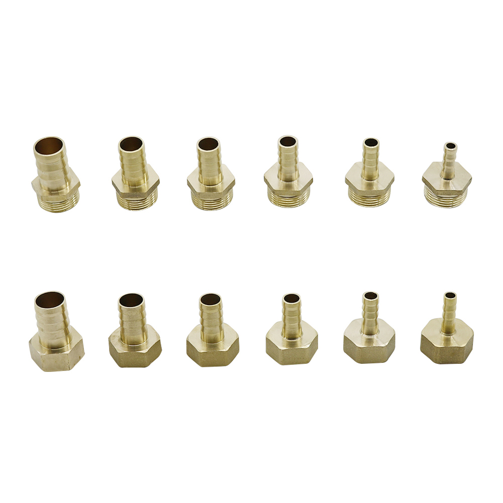 Brass 12mm 14mm 8mm 10mm 19mm 16mm Hose Barb Tail Fitting 3/4