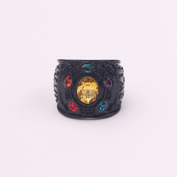 Infinity Ring Black Color 2