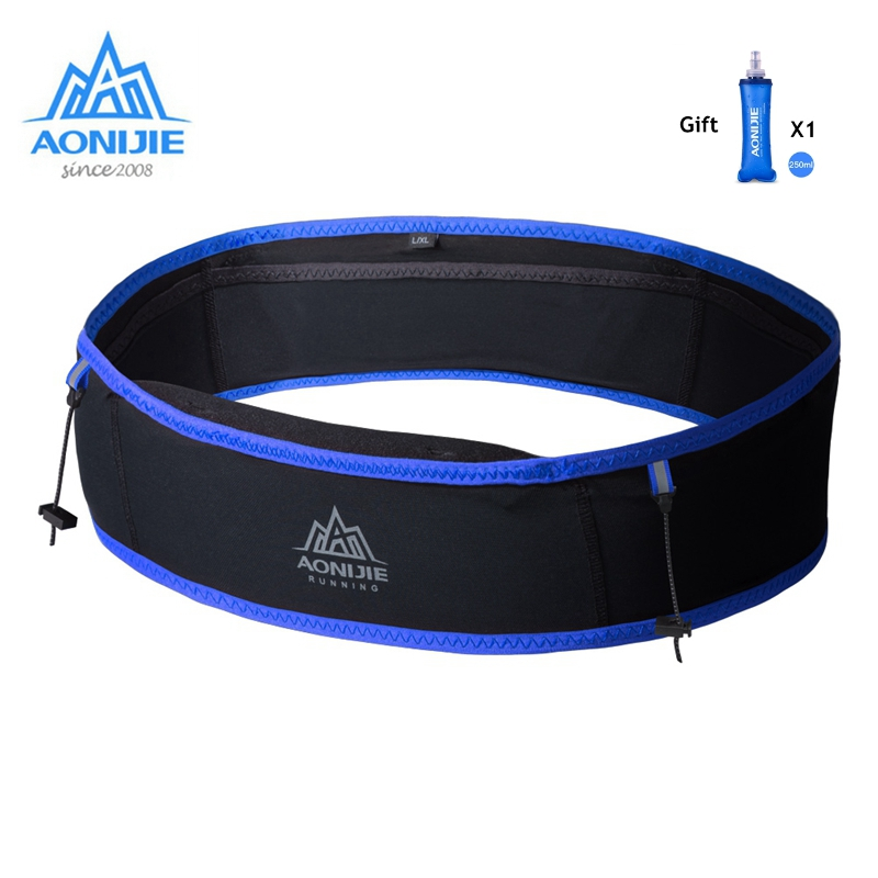 Aonijie Waist Bag With Free Water Soft Flask Outdoor Waist Belt Portable Ultralight For Trailing Running Camping Hiking W938S