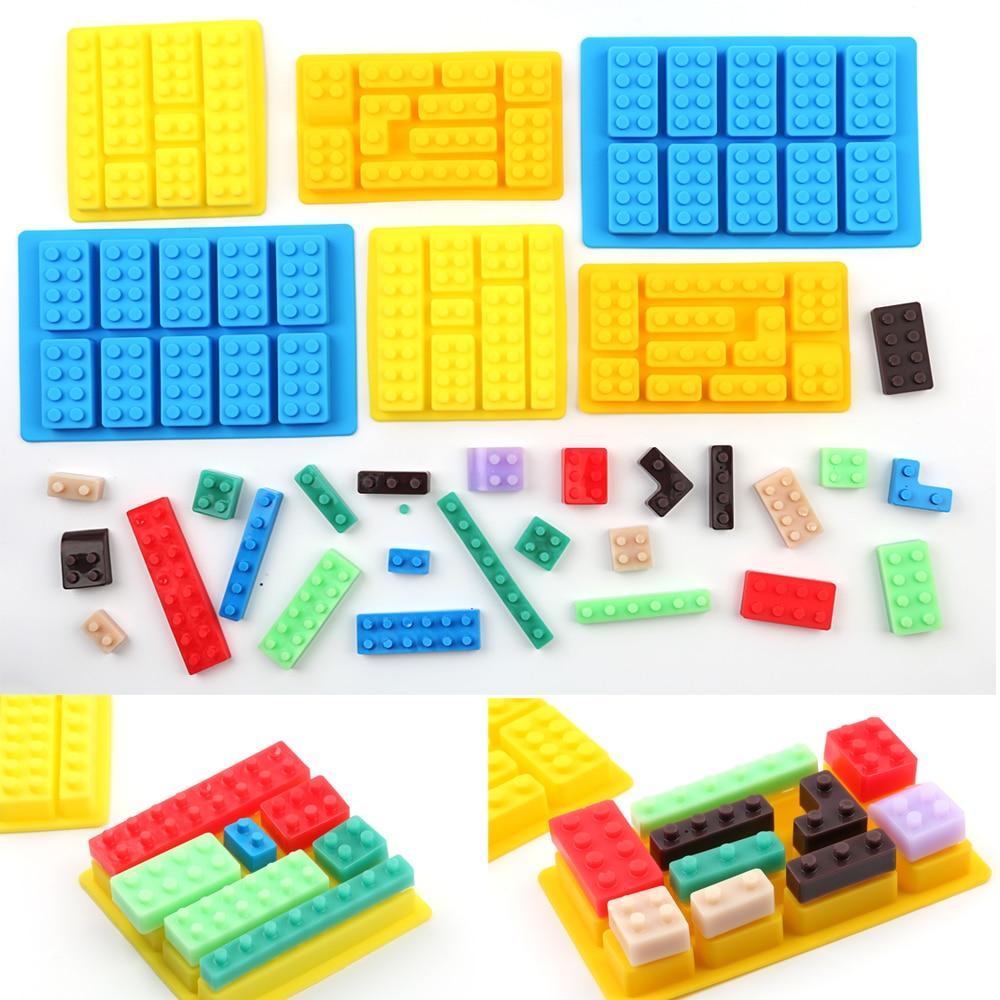 Lego Brick Jello Mold 1