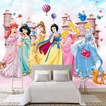 Customize 8d photo wallpaper 3D wallpaper mural children room girl bedroom background decorative wall covering