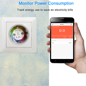 Image 3 - NEO Coolcam Smart Plug WiFi Socket 3680W 16A Power Energy Monitoring Timer Switch EU Outlet Voice Control by Alexa Google