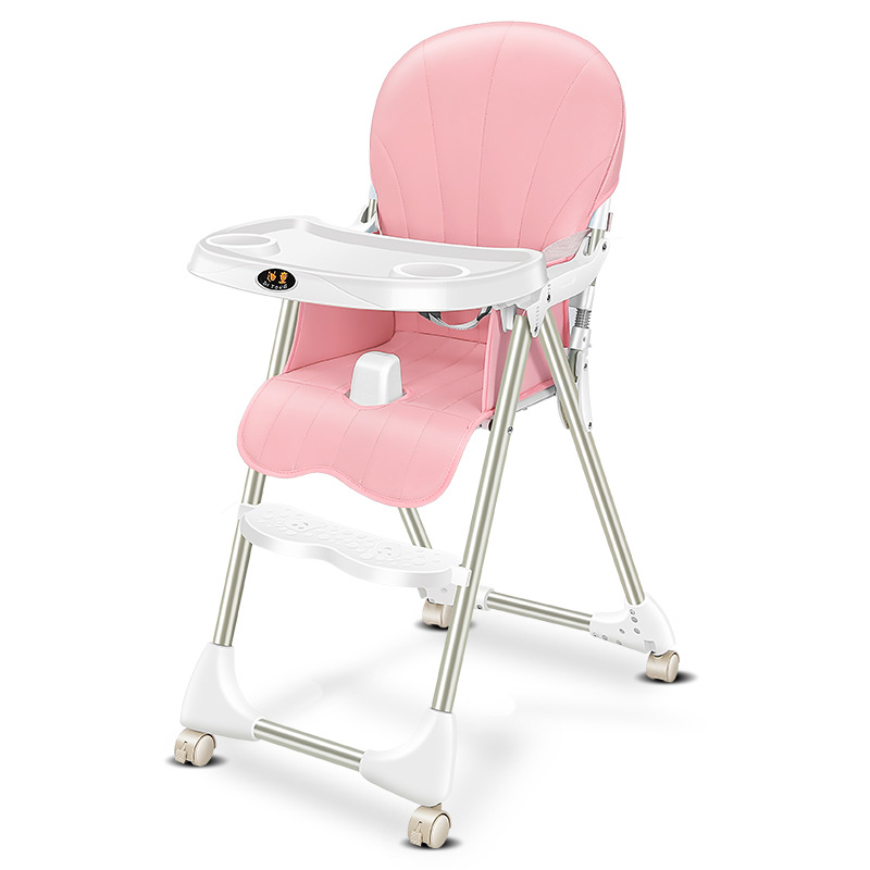 Baby Dining Chair  Foldable Portable Baby Chair Multifunctional Dining Kids Table And Chair Toddler Chair Kids Furniture