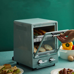 9L Double layer oven household baking multifunctional mini electric baking oven chicken roaster grill kitchen appliance electric