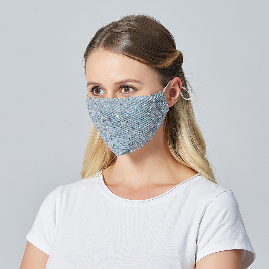 New Fashion Women Mouth Mask Spring Dust Protective Face Mask Pretty Dust Proof Breathable Ice Face Masks For Women