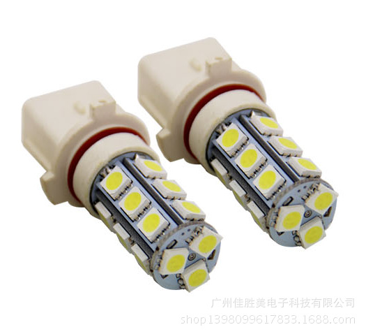 Led Highlight Special Vehicle Logo 508 Luxury Front Fog Lamp P13w 18 Pieces 5050 Car Led Light Led H