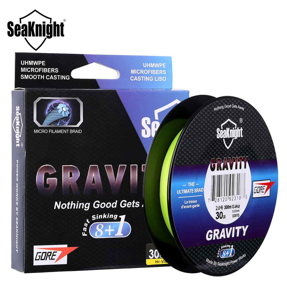 SeaKnight G9 Fast Sinking Line 9 Strands PE Line with GTX Performance Fibers High Specific Gravity 150M 300M Braid Line 2020 NEW Fishing Lines    - AliExpress