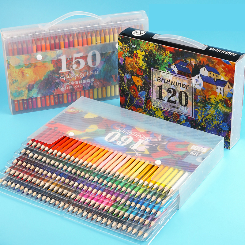 180 Colours/Set Color Painting Set Student Manga Art Supplies Colored Pencils Watercolor Pencils Drawing For Kids Graffiti Gift