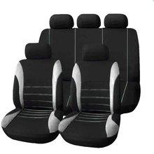 רכב מושב כיסוי Fit ביותר רכב משאית SUV או ואן לנשימה אוטומטי כרית מגן פוליאסטר בד אוניברסלי אביזרי פנים
