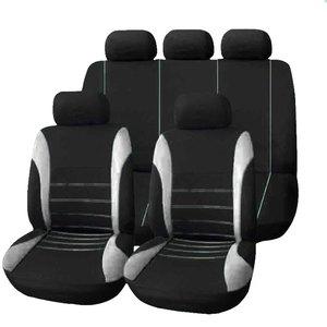 Image 1 - Funda universal para el asiento del automóvil, protector de cojín ajustado, transpirable, de poliéster, compatible con la mayoría de coches, camiones, SUV o furgonetas, accesorios de interior
