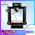Geeetech 3D принтер Reprap i3 Pro B DIY Kit GT2560 основная плата LCD2004 5 материалов поддержка impresora 3D печать сбоя питания